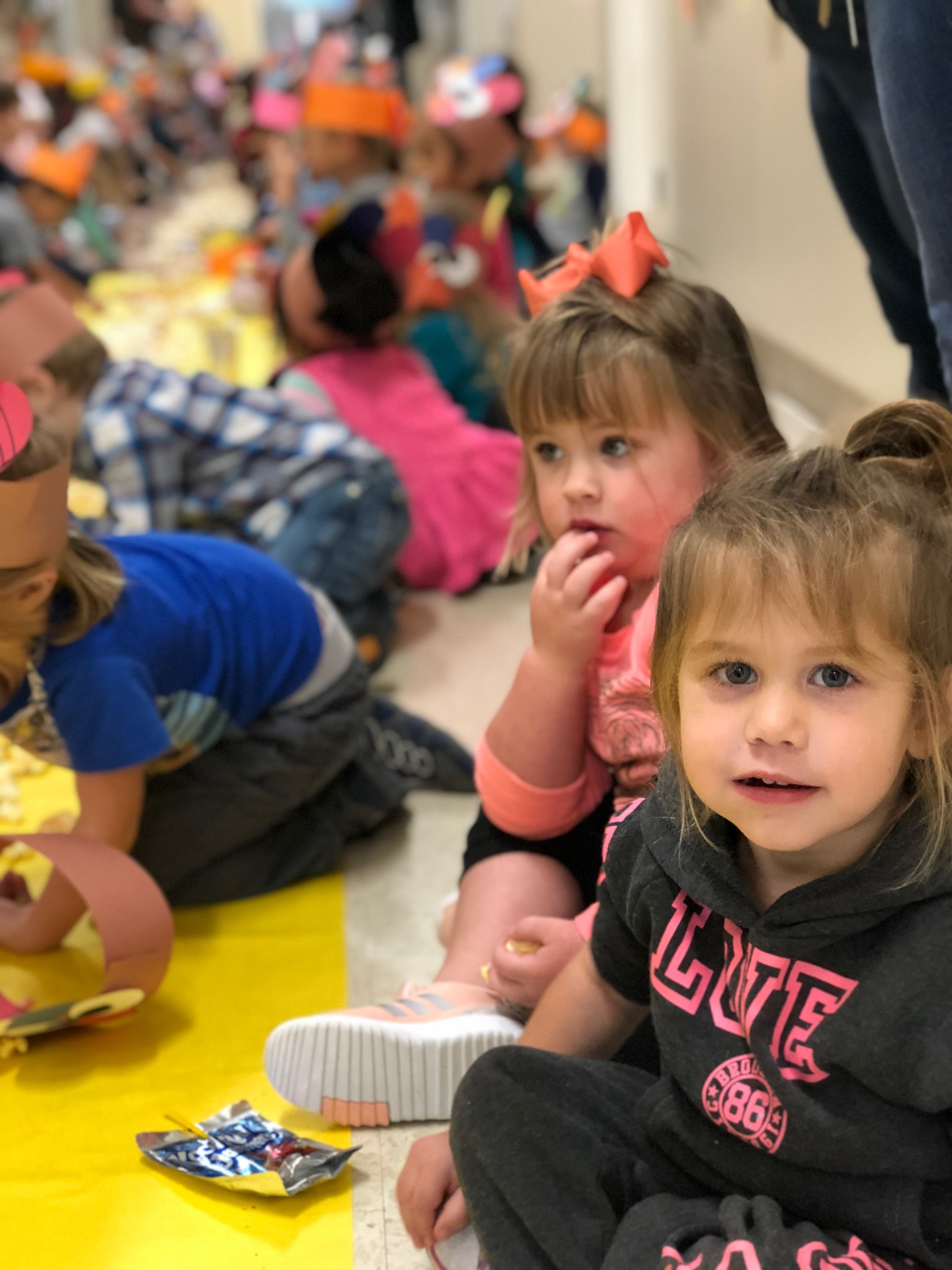 A Thanksgiving feast for PK-2nd grades at MGISD