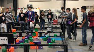 Robotics Match in Terrell